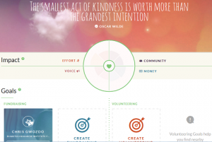 everydayhero: Impact Page, Source: everydayhero