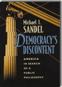 Democracy's Discontent by Michael Sandel