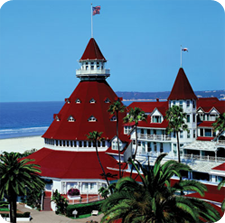 Hotel Del Coronado in San Diego, CA | Source: globle-hotels.blogspot.com