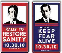 The Rally to Restore Sanity and/or The March to Keep Fear Alive